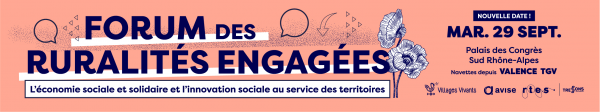 Forum Ruralités Engagées